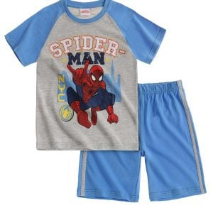 T-skjorte og shorts – Spiderman, NYC