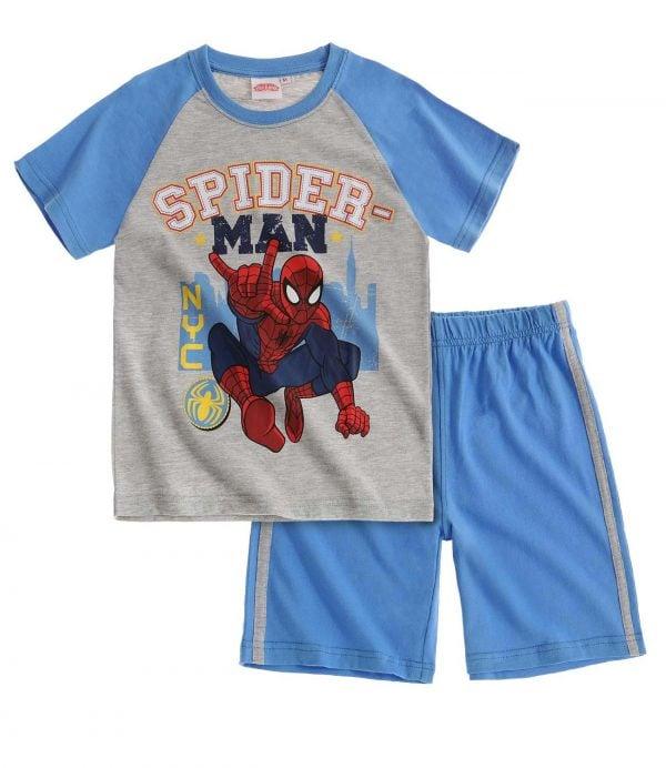 T-skjorte og shorts – Spiderman, NYC