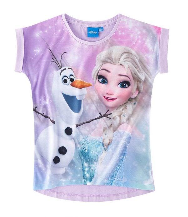 """T-skjorte - Frost, """"Elsa & Olaf"""""""