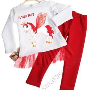 Tunika og leggings, sett - Flying pony