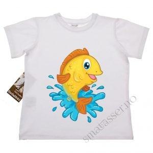T-skjorte - Gul fisk