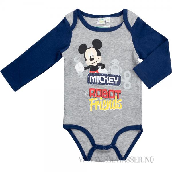 Mikke Mus sett - Mickey robot friends