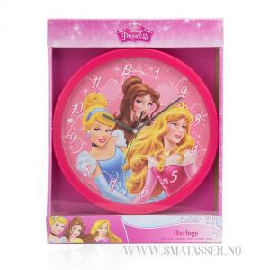 Disney Princess veggklokke, 25 cm