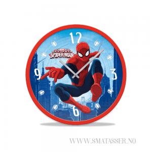 Spiderman veggklokke, 25 cm