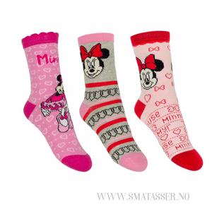 Minni Mus sokker, 3 pkn