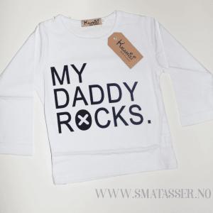 My daddy rocks - sett