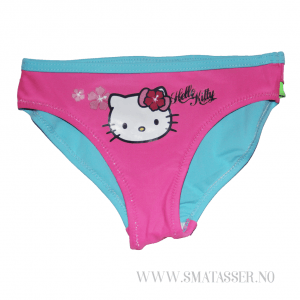 Hello Kitty bikinibukse - rosa/turkis