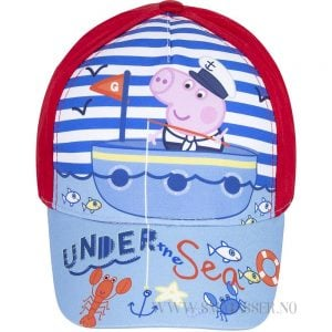 Peppa Gris caps - Under the sea