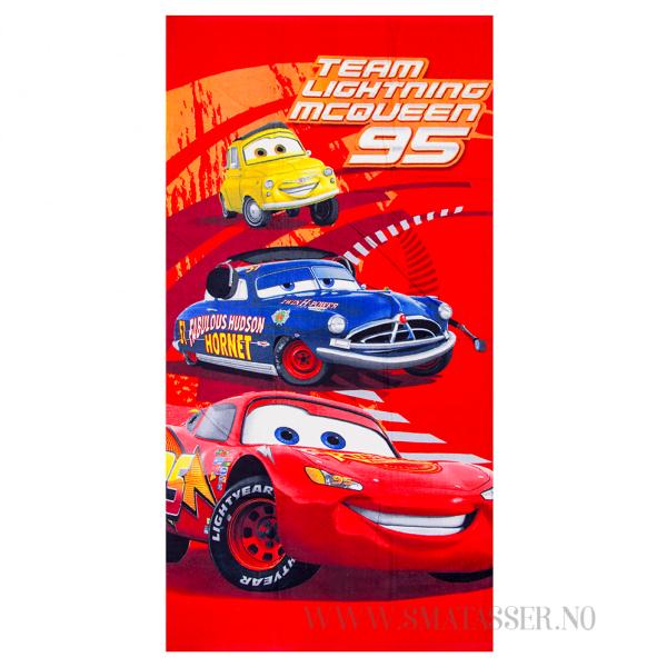 Biler badehåndkle - Team Lightning McQueen 95