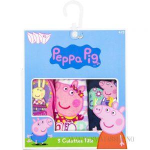 Peppa Gris truser 3 pakning
