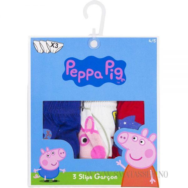 Peppa Gris underbukser 3 pakning