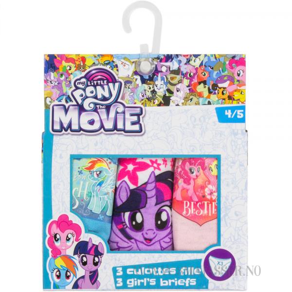 My Little Pony truser - 3 pakning