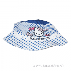 Hello Kitty solhatt - rutete