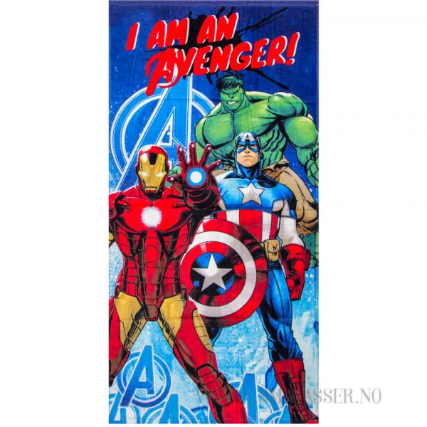 Avengers badehåndkle - I am an Avenger