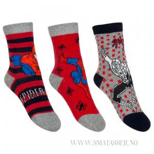 Spiderman sokker 3 pakning