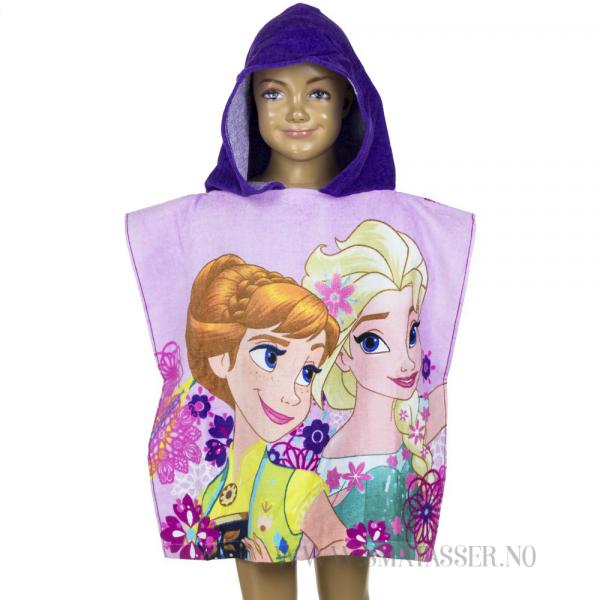 Frozen badeponcho - Elsa og Anna