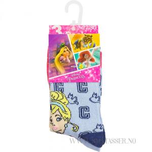 Disney Prinsesser sokker 3 pakning