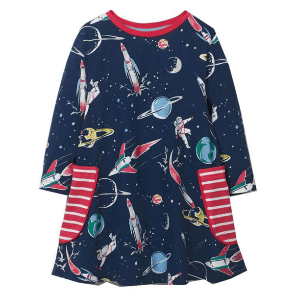 Kjole for unge romforskere, A-modell