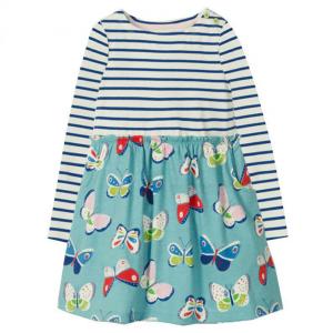 Kjole med sommerfugler, A-modell