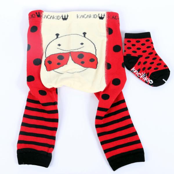 Strømpebukse & matchende sokker - Marihøne