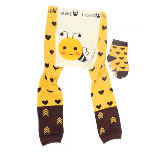 Strømpebukse & matchende sokker - Bie