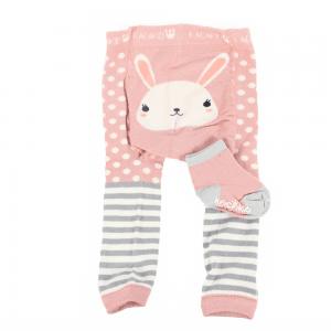 Strømpebukse & matchende sokker - Kanin