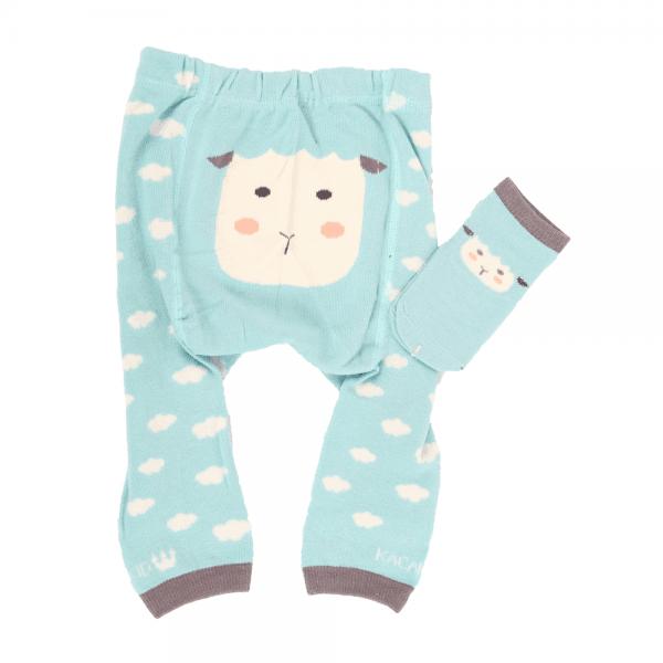 Strømpebukse & matchende sokker - Sau