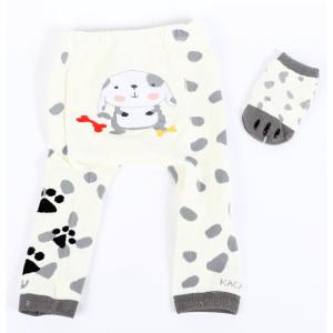 Strømpebukse & matchende sokker - Hund