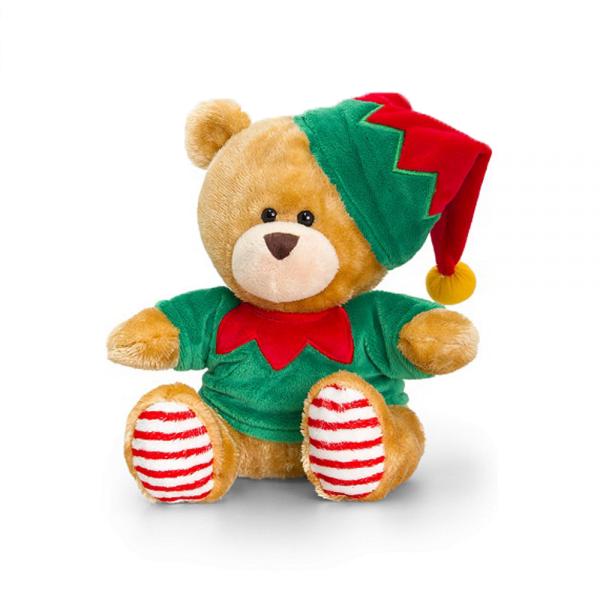 Bjørnen Pipp 20 cm, julealv