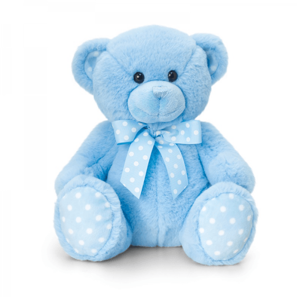 Bamse, 25 cm, blå
