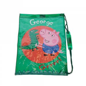 Peppa Gris, George, gympose