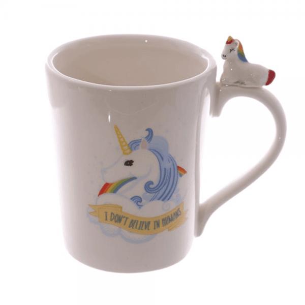 Enhjørning kopp, blå