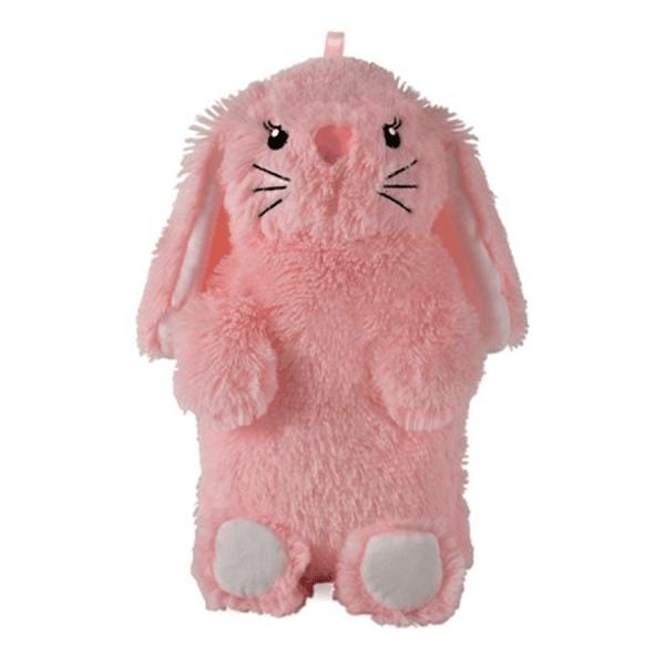 Varmeflaske, 750 ml, rosa kanin