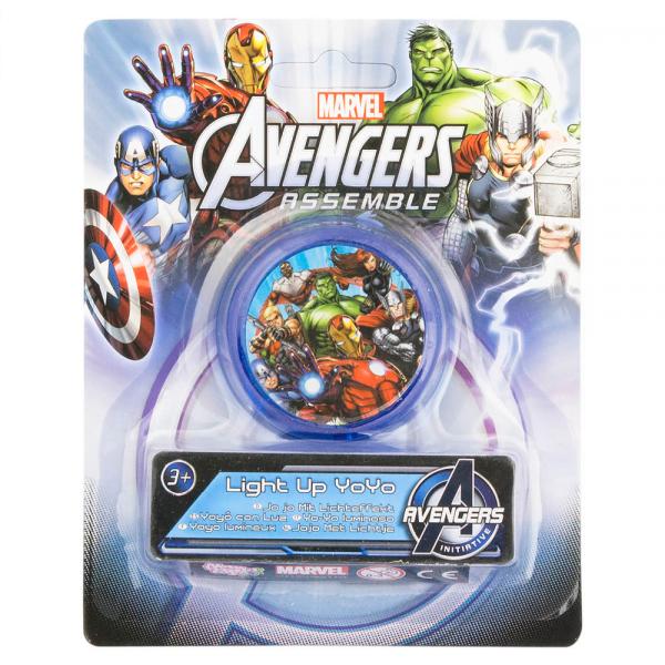 Avengers yoyo med lys