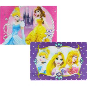 Disney Princess 3D skrivebordsunderlag, lilla
