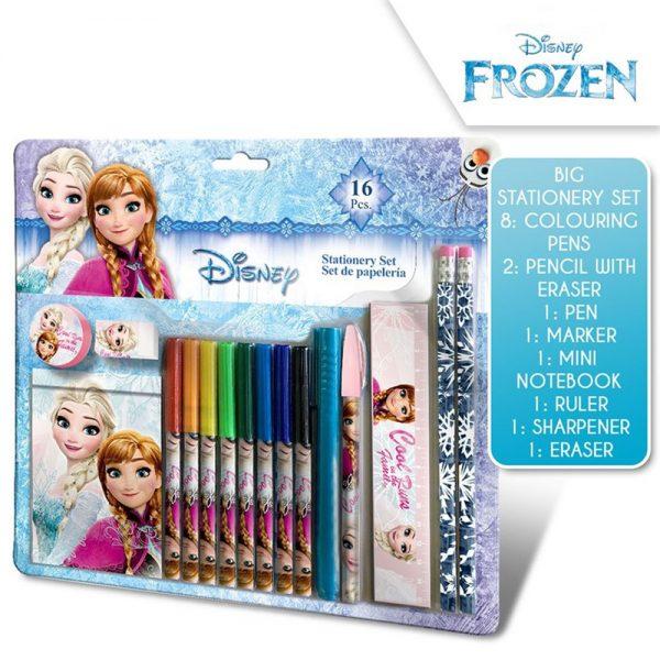 Frozen skrivesett, 16 deler