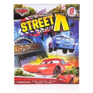 Cars trepuslespill 2#