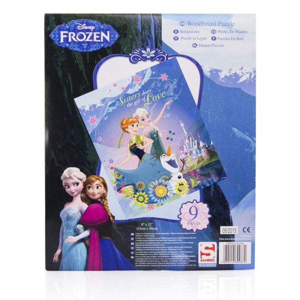 Frozen trepuslespill