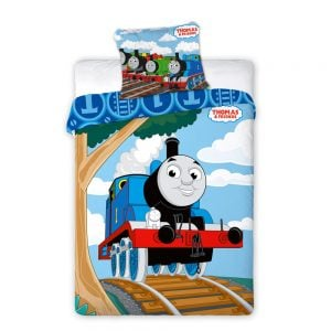 Lokomotivet Thomas sengesett, 100x135 cm