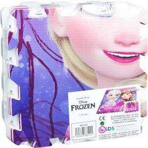Frozen puslematte, 90x90 cm