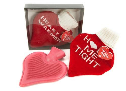 Hjerteformet varmeflaske