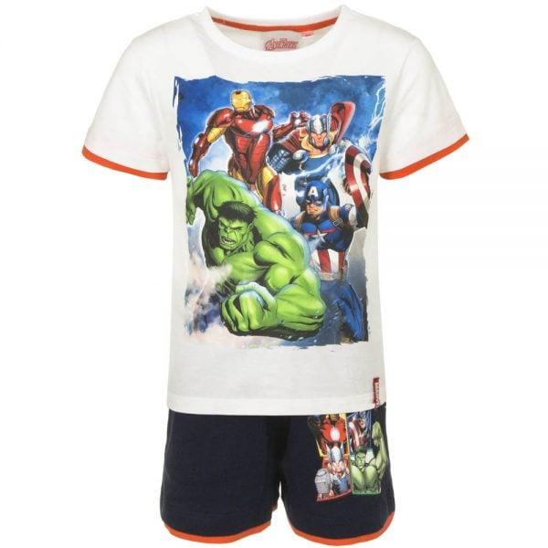 T-skjorte & shorts sett - Avengers