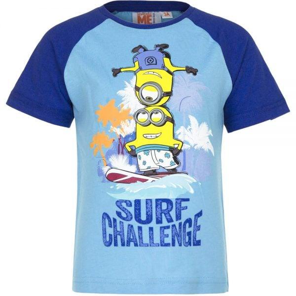 T-skjorte Minions - Surf challenge