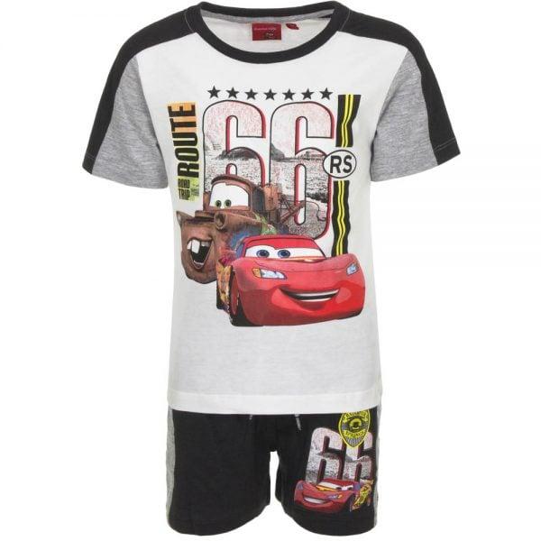 T-skjorte & shorts sett - Cars - Route 66