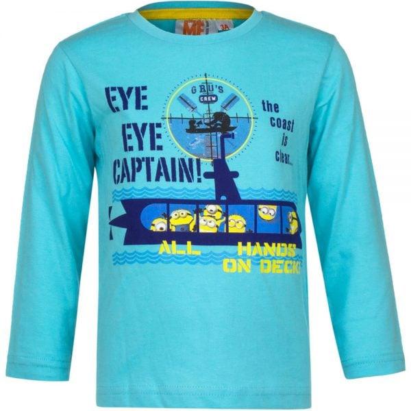 Langermet genser Minions - Eye eye Captain