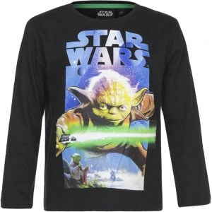 Langermet genser Star Wars - Yoda