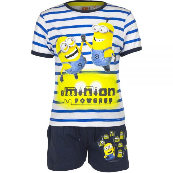 T-skjorte & shorts #Minions# - Powered