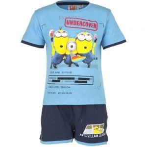 T-skjorte & shorts sett - Minions - Undercover