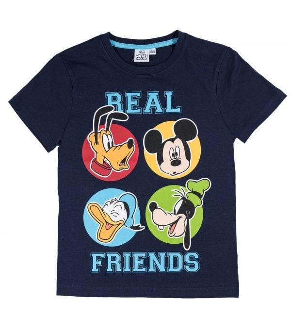 T-Skjorte - Mikke Mus - Real friends