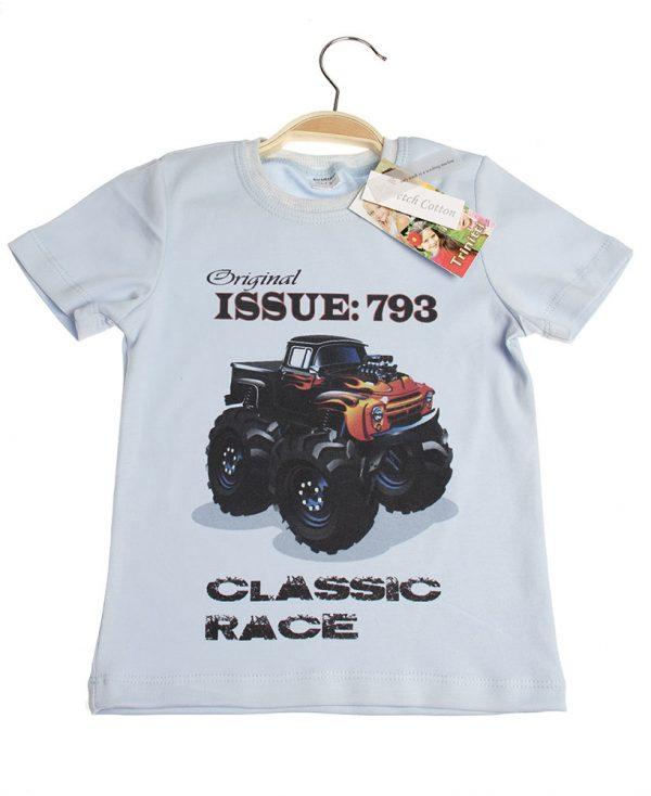 T-skjorte m trykk - Classic race